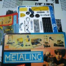 Juegos construcción - Meccano: METALING 2 AÑOS 70 DE POCH. Lote 199076228