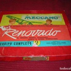 Juegos construcción - Meccano: INTERESANTE JUEGO DE MECCANO CON LIBRO DE INSTRUCCIONES.. Lote 199317148