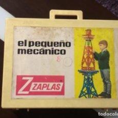 Juegos construcción - Meccano: EL PEQUEÑO MECANICO. DE INDUSTRIAS PLASTICAS ARAGONESAS ZAPLAS. AÑOS 60. VER FOTOGRAFIAS. Lote 199554378