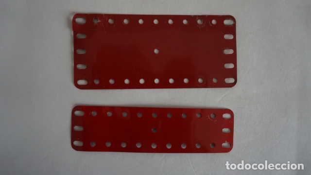 Juegos construcción - Meccano: LOTE DE PIEZAS ANTIGUAS DE MECCANO - Foto 3 - 199956788
