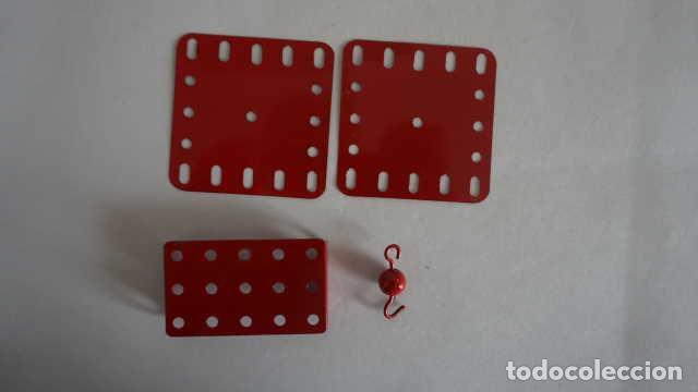 Juegos construcción - Meccano: LOTE DE PIEZAS ANTIGUAS DE MECCANO - Foto 4 - 199956788