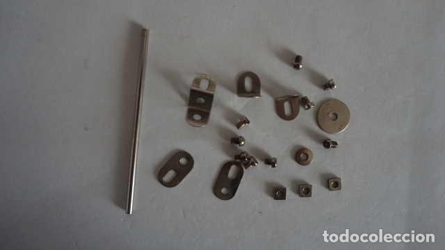 Juegos construcción - Meccano: LOTE DE PIEZAS ANTIGUAS DE MECCANO - Foto 6 - 199956788
