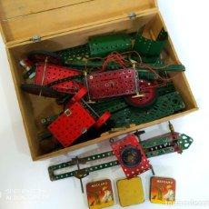 Juegos construcción - Meccano: MECCANO PIEZAS 0 0A 1A 2A. Lote 200338311