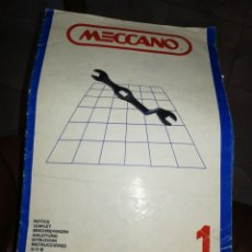 Juegos construcción - Meccano: DOS CATALOGOS MECCANO. Lote 200826606