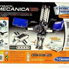 Juegos construcción - Meccano: LABORATORIO DE MECÁNICA ESPACIAL DE CLEMENTONI: EXPLORADOR Y ESTACIÓN ESPACIAL FUNCIONAL. NUEVO .. Lote 200827601