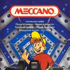Juegos construcción - Meccano: MECCANO - GUIA LIBRO MANUAL DE INSTRUCCIONES - MECCANO 2. Lote 201613476