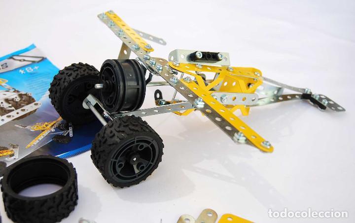 Juegos construcción - Meccano: Meccano Multimodels 10 modelos Ref. 5560. Incompleto - Foto 2 - 204973998