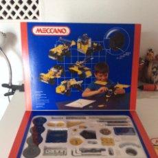Giochi costruzione - Meccano: MECCANO MECANO NÚMERO 3 - 39 MODELOS - 353 PIEZAS - MOTOR. Lote 205037588
