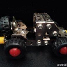 Juegos construcción - Meccano: COCHE DE MECCANO- AÑOS 80- 12X7X5 CM.. Lote 205702806