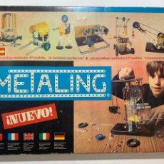 Juegos construcción - Meccano: JUEGO DE 1970 METALING Nº 1 TIPO MECCANO DE NOVEDADES POCHE. Lote 206530041