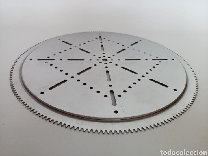 Juegos construcción - Meccano: 2 platos replica de la pieza 167 de meccano nuevos y sin uso. Hechos de acero inoxidable. - Foto 4 - 206761472