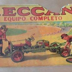Juegos construcción - Meccano: ANTIGUO MECCANO 000 EQUIPO COMPLETO AÑOS 30. Lote 207210195