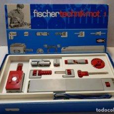 Juegos construcción - Meccano: FISCHER TECHNIK MOT1 EN CAJA ORIGINAL SIN USO DIFICIL. Lote 207756255