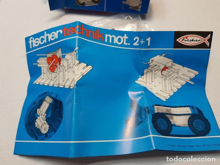 Juegos construcción - Meccano: Fischer technik 05 en caja original sin uso Dificil - Foto 3 - 207760347