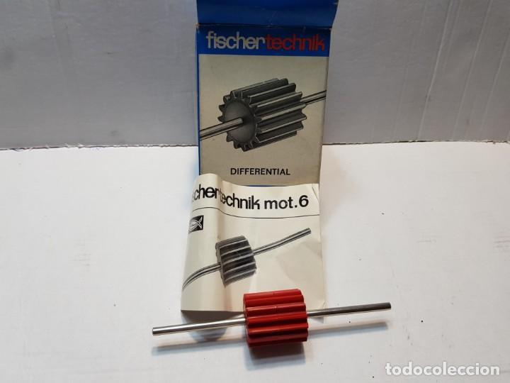 FISCHER TECHNIK MOT.6 EN CAJA ORIGINAL SIN USO DIFICIL (Juguetes - Construcción - Meccano)