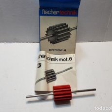 Juegos construcción - Meccano: FISCHER TECHNIK MOT.6 EN CAJA ORIGINAL SIN USO DIFICIL. Lote 207760595