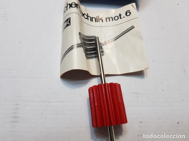 Juegos construcción - Meccano: Fischer technik Mot.6 en caja original sin uso Dificil - Foto 2 - 207760595