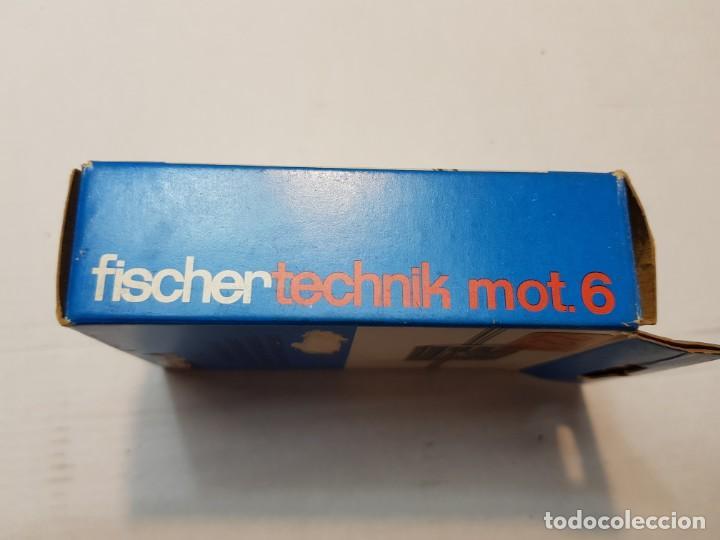 Juegos construcción - Meccano: Fischer technik Mot.6 en caja original sin uso Dificil - Foto 3 - 207760595