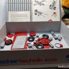 Juegos construcción - Meccano: FISCHER TECHNIK 1000 CON CATALOGO DIFICIL. Lote 207762586
