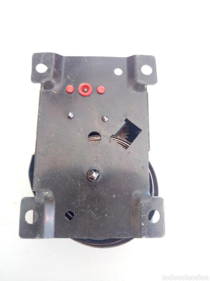Juegos construcción - Meccano: Antiguo motor a resorte cuerda meccano Magic novedades poch caja repro reproducción funcionado bien - Foto 4 - 204323810