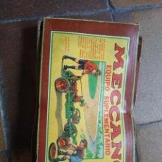 Juegos construcción - Meccano: CAJA ORIGINAL DE MEXICANO EQUIPO SUPLEMENTARIO 0A. Lote 209941692