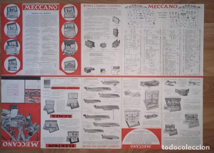 Juegos construcción - Meccano: CATALOGO DESPLEGABLE TRENES MECCANO HORNBY. - Foto 2 - 211461825