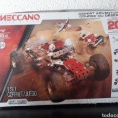 Juegos construcción - Meccano: MECCANO DESERT ADVENTURE AVENTURA DESIERTO CONSTRUCCION COCHE METAL. Lote 212701868