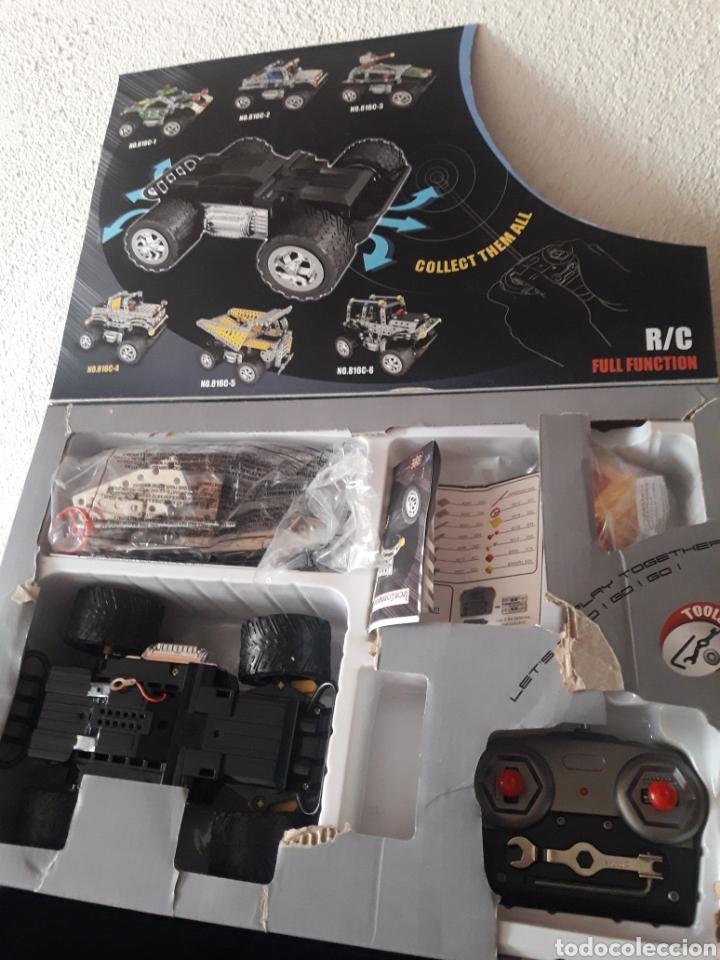 Juegos construcción - Meccano: Coche tipo Meccano iron commander magical model radiocontrol teledirigido tipo jeep - Foto 2 - 212702968