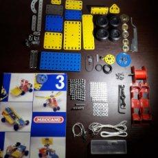 Juegos construcción - Meccano: MECCANO SET N° 3 AÑOS 90. Lote 213244385