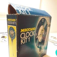 Juegos construcción - Meccano: MECCANO CLOCK KIT 1. Lote 213909527