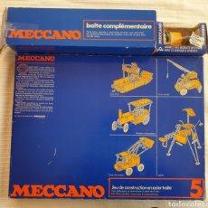 Juegos construcción - Meccano: MECCANO 5 ANTIGUO AÑOS 70 CON MOTOR. Lote 214188302