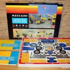 Giochi costruzione - Meccano: ANTIGUA MECCANO METALING 5 - SERIE ESPACIAL - POCH - MUY COMPLETO - CON FOLLETO 2/3 Y 4/5. Lote 214570991