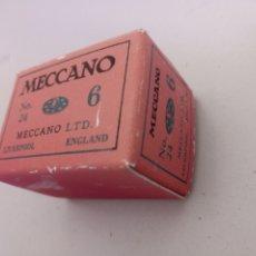 Juegos construcción - Meccano: CAJITA REPRO DE CARTÓN MECCANO REPRODUCCIÓN MECCANO PIEZA 24 INGLESA. Lote 218185472