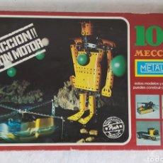 Juegos construcción - Meccano: MECCANO 10 METALING COMPLETO. Lote 218242212