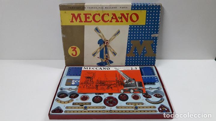 Juegos construcción - Meccano: MECCANO Nº 3 . FABRICADO EN FRANCIA . ORIGINAL AÑOS 70 - Foto 2 - 218475148
