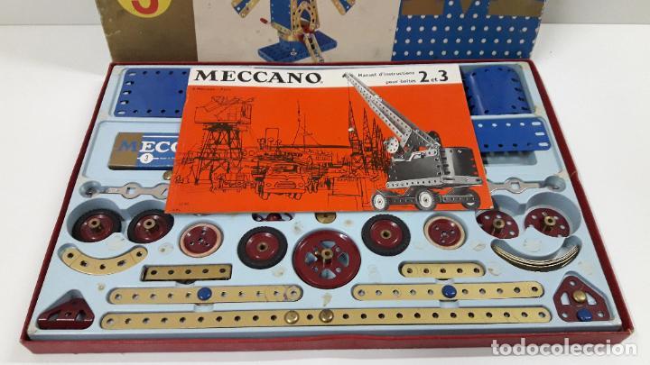 Juegos construcción - Meccano: MECCANO Nº 3 . FABRICADO EN FRANCIA . ORIGINAL AÑOS 70 - Foto 3 - 218475148