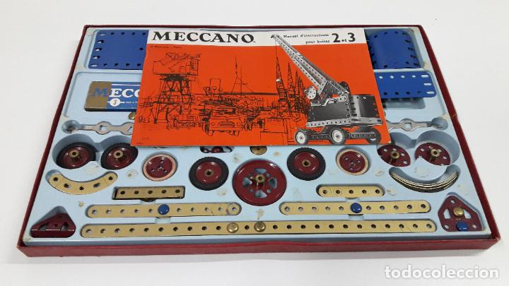 Juegos construcción - Meccano: MECCANO Nº 3 . FABRICADO EN FRANCIA . ORIGINAL AÑOS 70 - Foto 4 - 218475148