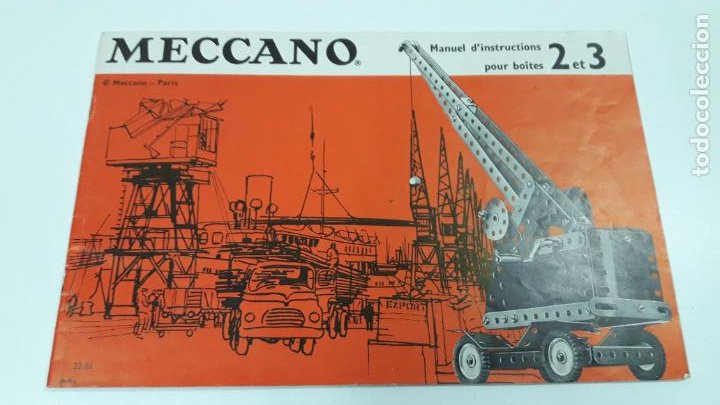 Juegos construcción - Meccano: MECCANO Nº 3 . FABRICADO EN FRANCIA . ORIGINAL AÑOS 70 - Foto 5 - 218475148