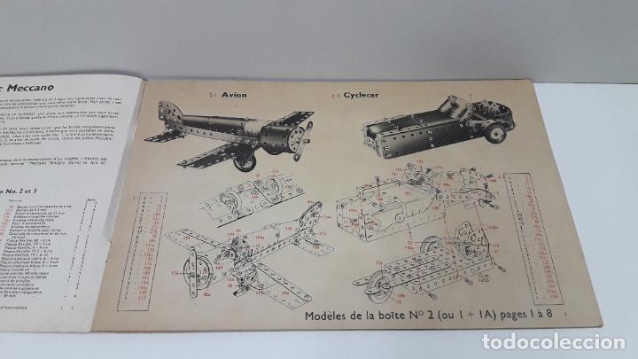 Juegos construcción - Meccano: MECCANO Nº 3 . FABRICADO EN FRANCIA . ORIGINAL AÑOS 70 - Foto 9 - 218475148
