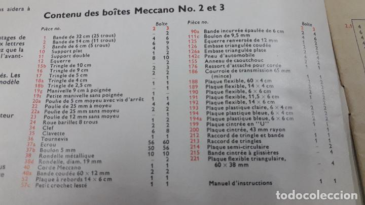 Juegos construcción - Meccano: MECCANO Nº 3 . FABRICADO EN FRANCIA . ORIGINAL AÑOS 70 - Foto 10 - 218475148