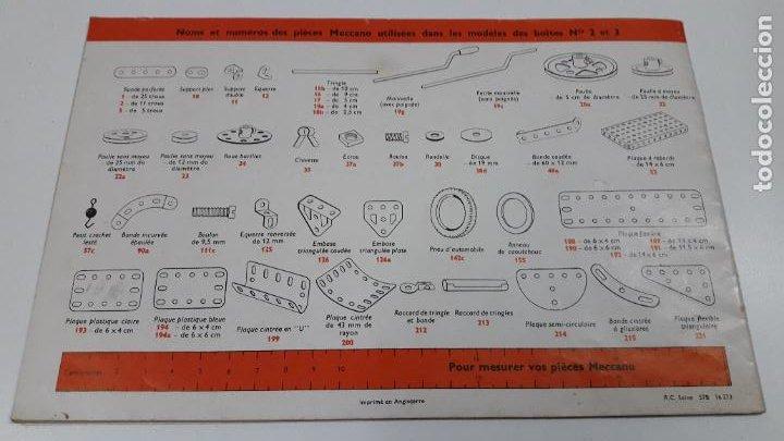 Juegos construcción - Meccano: MECCANO Nº 3 . FABRICADO EN FRANCIA . ORIGINAL AÑOS 70 - Foto 11 - 218475148
