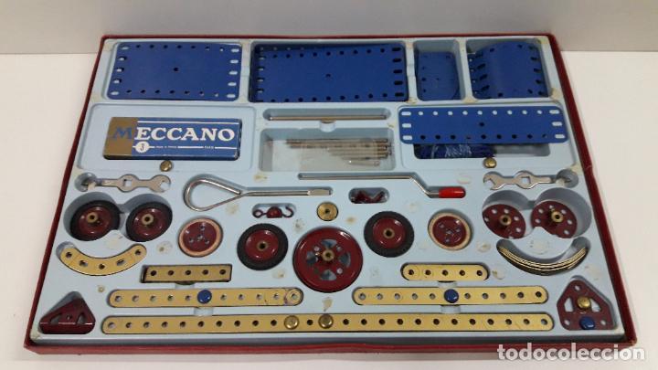 Juegos construcción - Meccano: MECCANO Nº 3 . FABRICADO EN FRANCIA . ORIGINAL AÑOS 70 - Foto 14 - 218475148