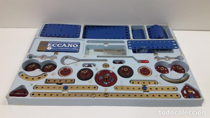 Juegos construcción - Meccano: MECCANO Nº 3 . FABRICADO EN FRANCIA . ORIGINAL AÑOS 70 - Foto 54 - 218475148