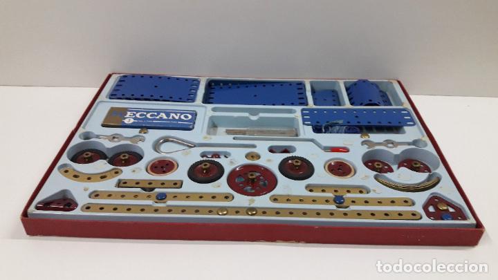 Juegos construcción - Meccano: MECCANO Nº 3 . FABRICADO EN FRANCIA . ORIGINAL AÑOS 70 - Foto 57 - 218475148