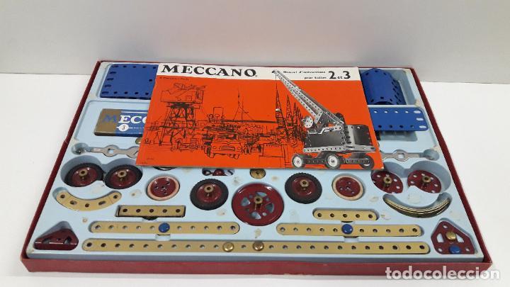 Juegos construcción - Meccano: MECCANO Nº 3 . FABRICADO EN FRANCIA . ORIGINAL AÑOS 70 - Foto 60 - 218475148