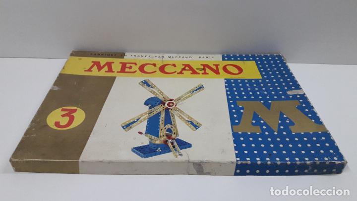 Juegos construcción - Meccano: MECCANO Nº 3 . FABRICADO EN FRANCIA . ORIGINAL AÑOS 70 - Foto 61 - 218475148