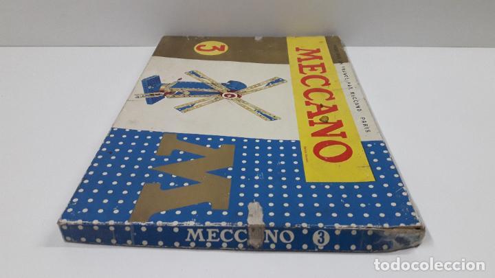 Juegos construcción - Meccano: MECCANO Nº 3 . FABRICADO EN FRANCIA . ORIGINAL AÑOS 70 - Foto 62 - 218475148