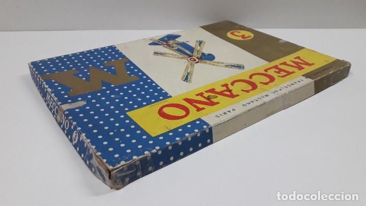 Juegos construcción - Meccano: MECCANO Nº 3 . FABRICADO EN FRANCIA . ORIGINAL AÑOS 70 - Foto 63 - 218475148
