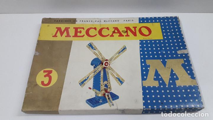 Juegos construcción - Meccano: MECCANO Nº 3 . FABRICADO EN FRANCIA . ORIGINAL AÑOS 70 - Foto 66 - 218475148