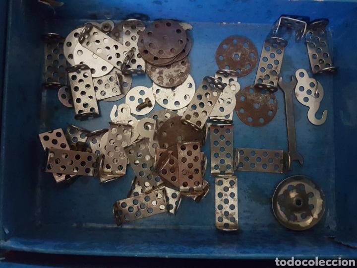 Juegos construcción - Meccano: TRIX.CONSTRUCCIONES METALICAS (TIPO MECANO) CAJA GRANDE - Foto 4 - 219178397